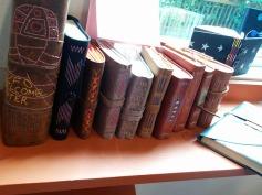 Hand-bound books class.