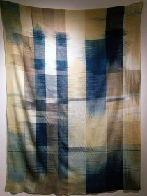 This wall hanging was around 8 feet tall and exquisitely woven.