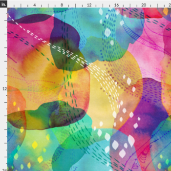 Daydreaming by Ceciliamok on Spoonflower