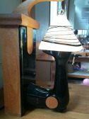 I would have died if I could have bought this lamp. Its made out of an old singer sewing machine. I love it.