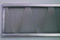 An ondulé fan reed.