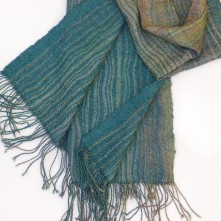 """""""Mountains and Mist"""" scarf."""