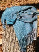 """Mountains and Mist"" scarf."