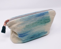 Handwoven pouch.